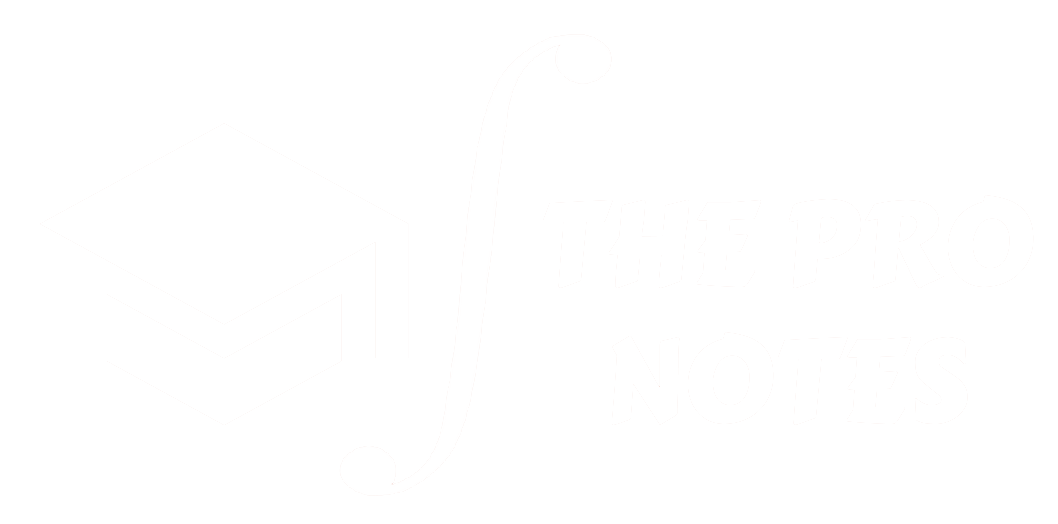 The Pro Notes