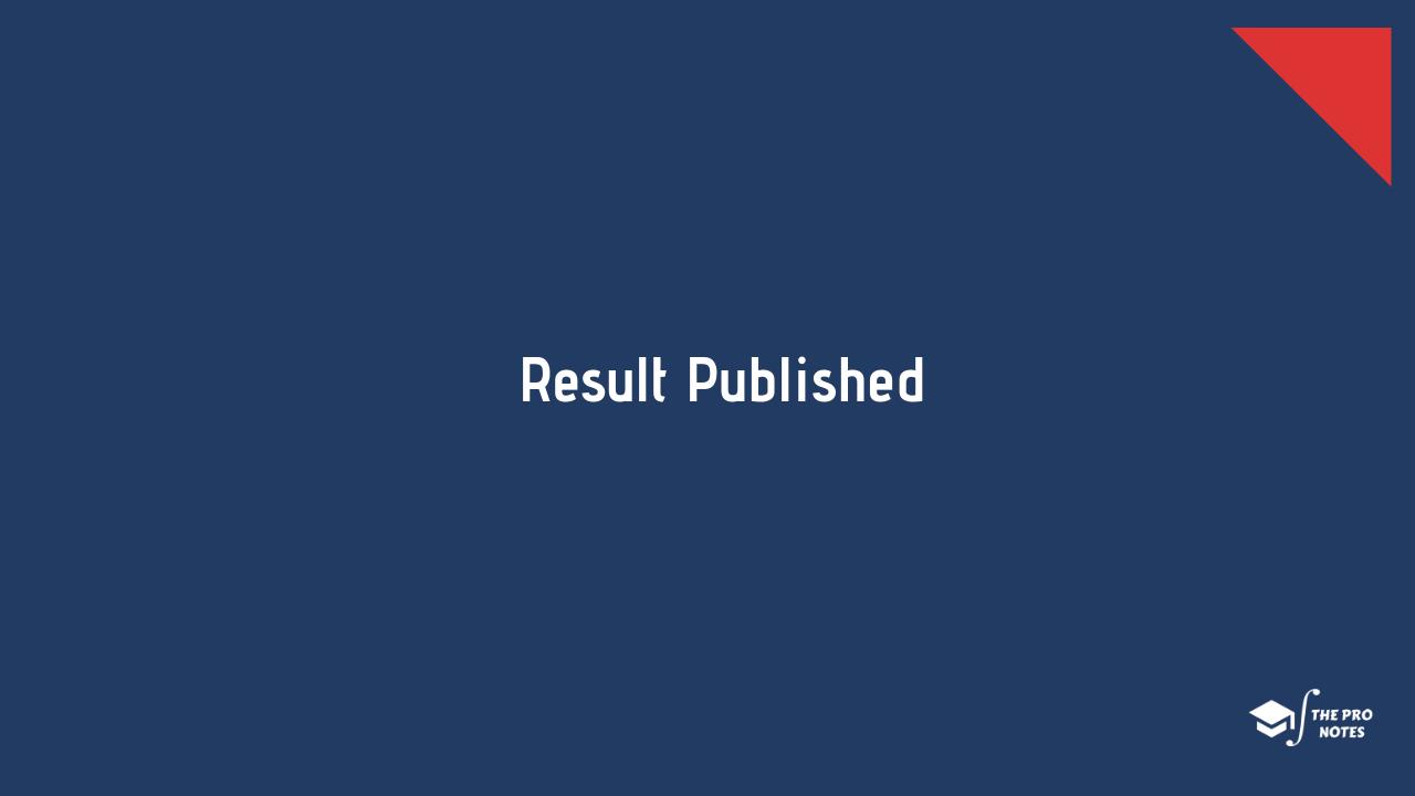 BBM First Semester Result 2076 Published: TU