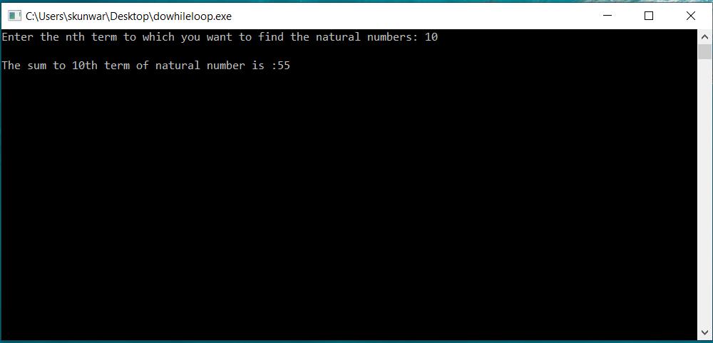 Loops in C Programming